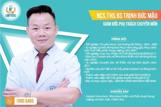 Bs Trịnh Đức Mậu