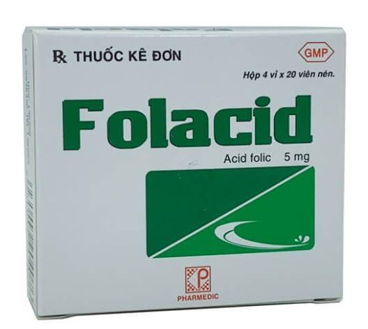 Uống ngày 1 viên acid folic 5mg từ khi thai 2 tháng có ảnh hưởng gì không?